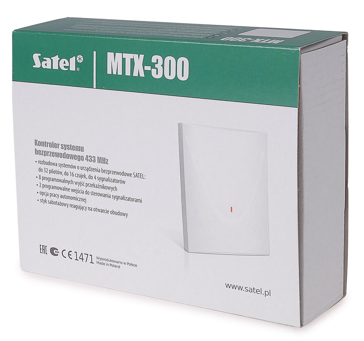 Opakowanie kontrolera MTX-300