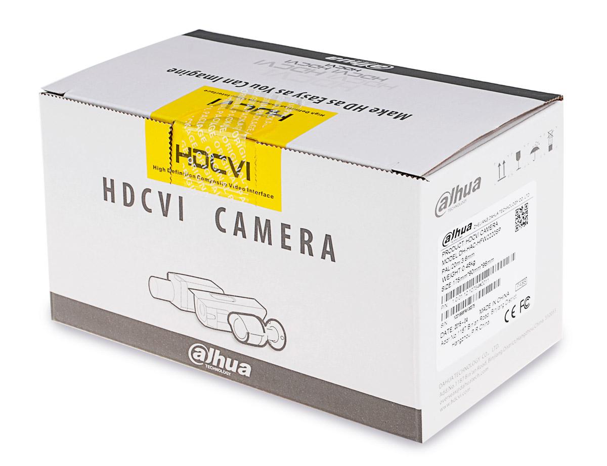 Opakowanie kamery DH-HAC-HFW1200S
