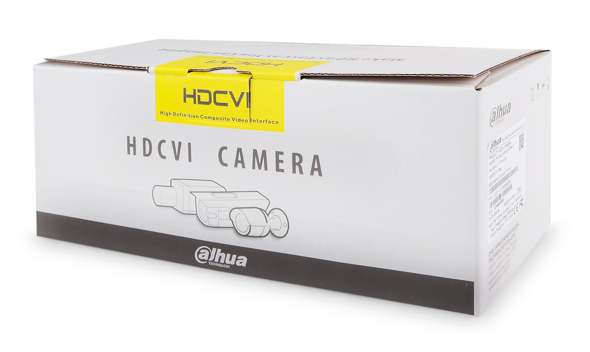 Opakowanie kamery DH-HAC-HFW2220RP-Z