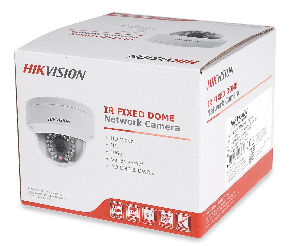 Opakowanie kamery DS-2CD2122FWD-I