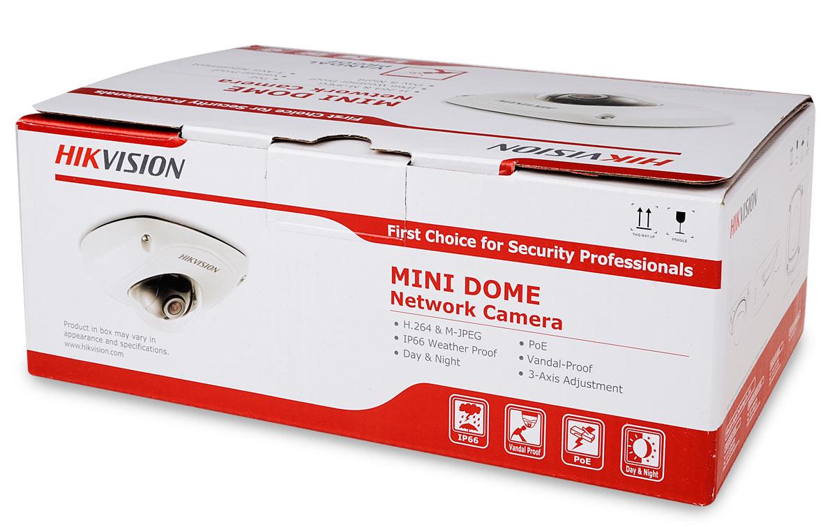 Opakowanie kamery DS-2CD2510F
