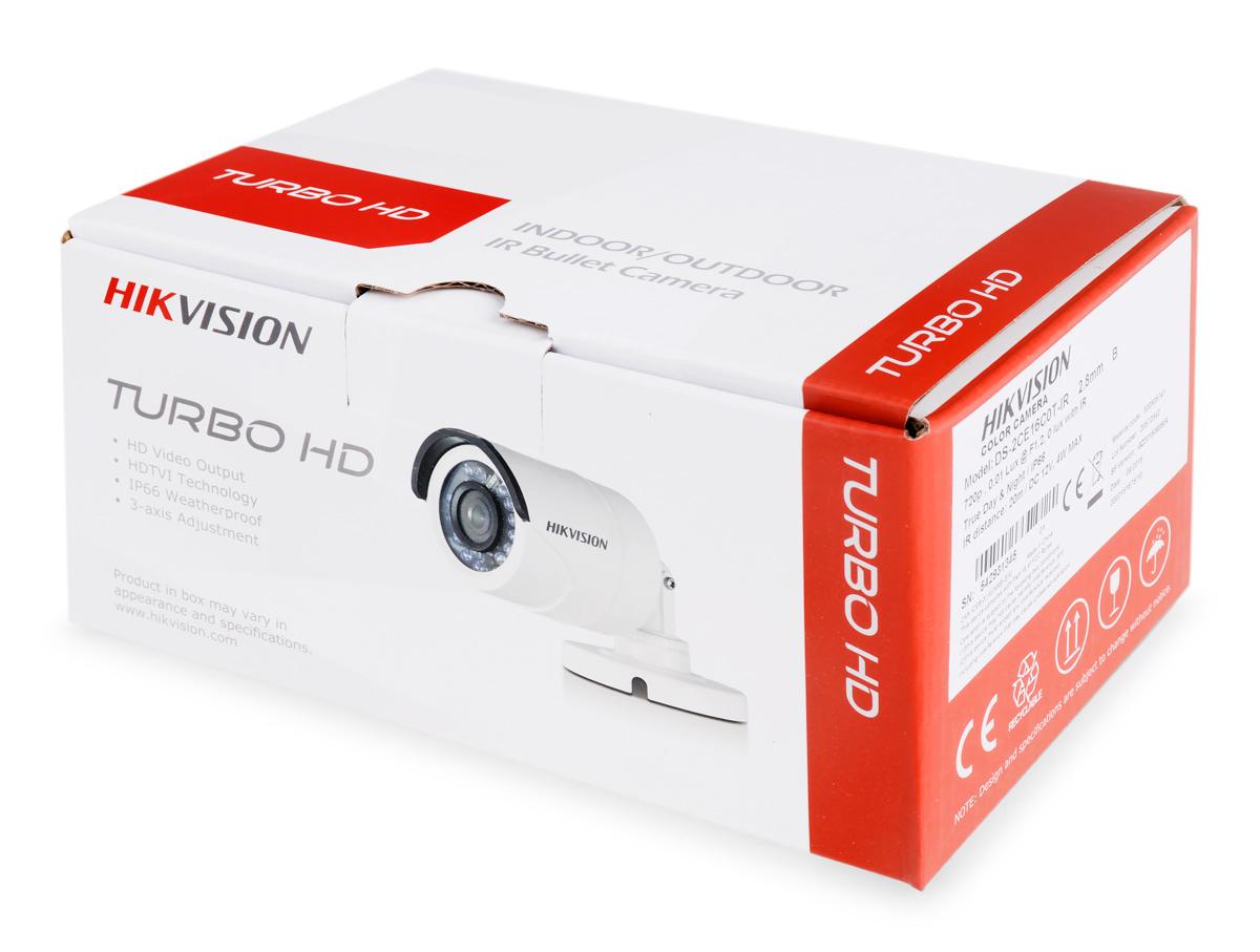 Opakowanie kamery DS-2CE16C0T-IR(B)