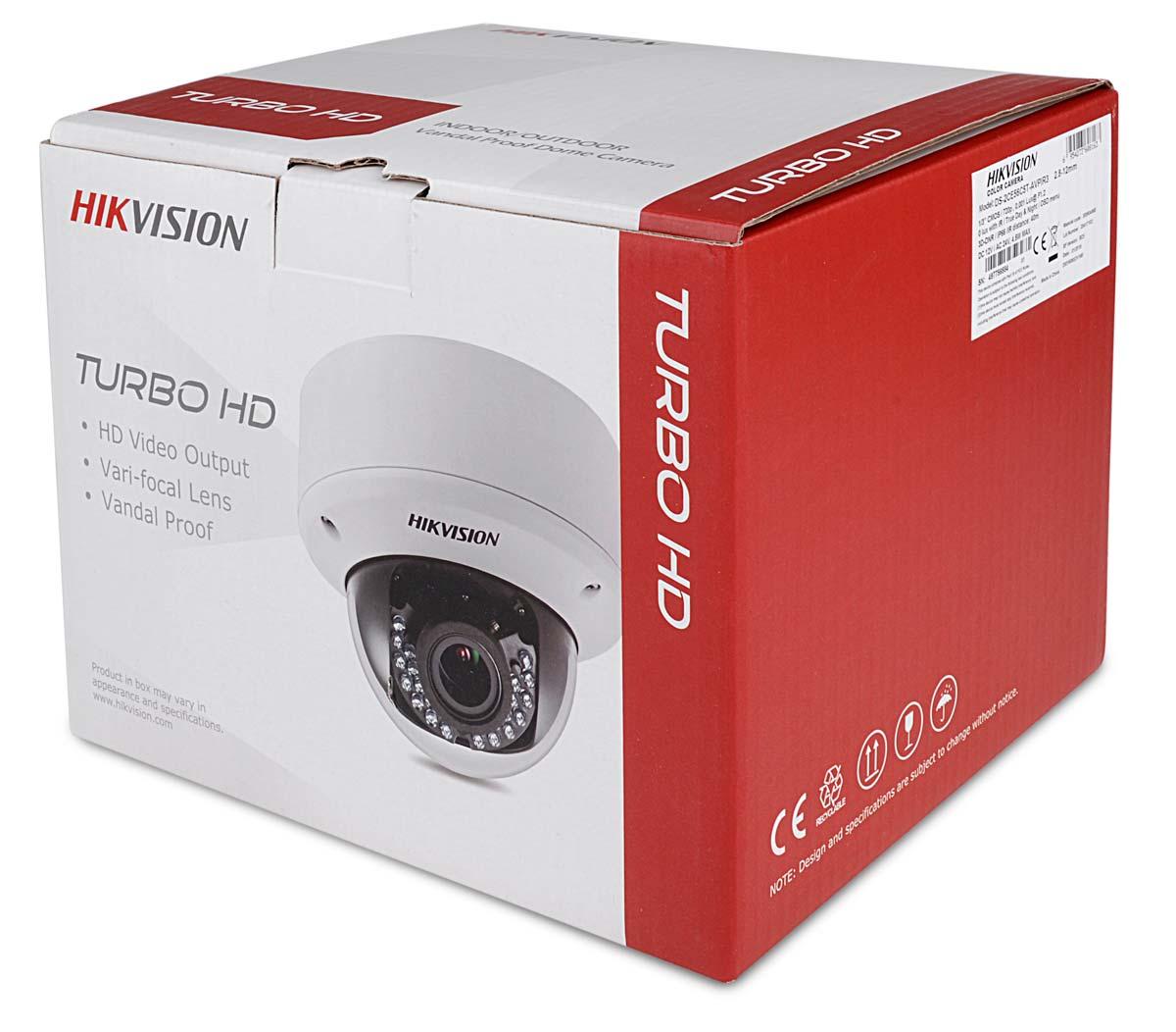Opakowanie kamery DS-2CE56C5T-AVPIR3