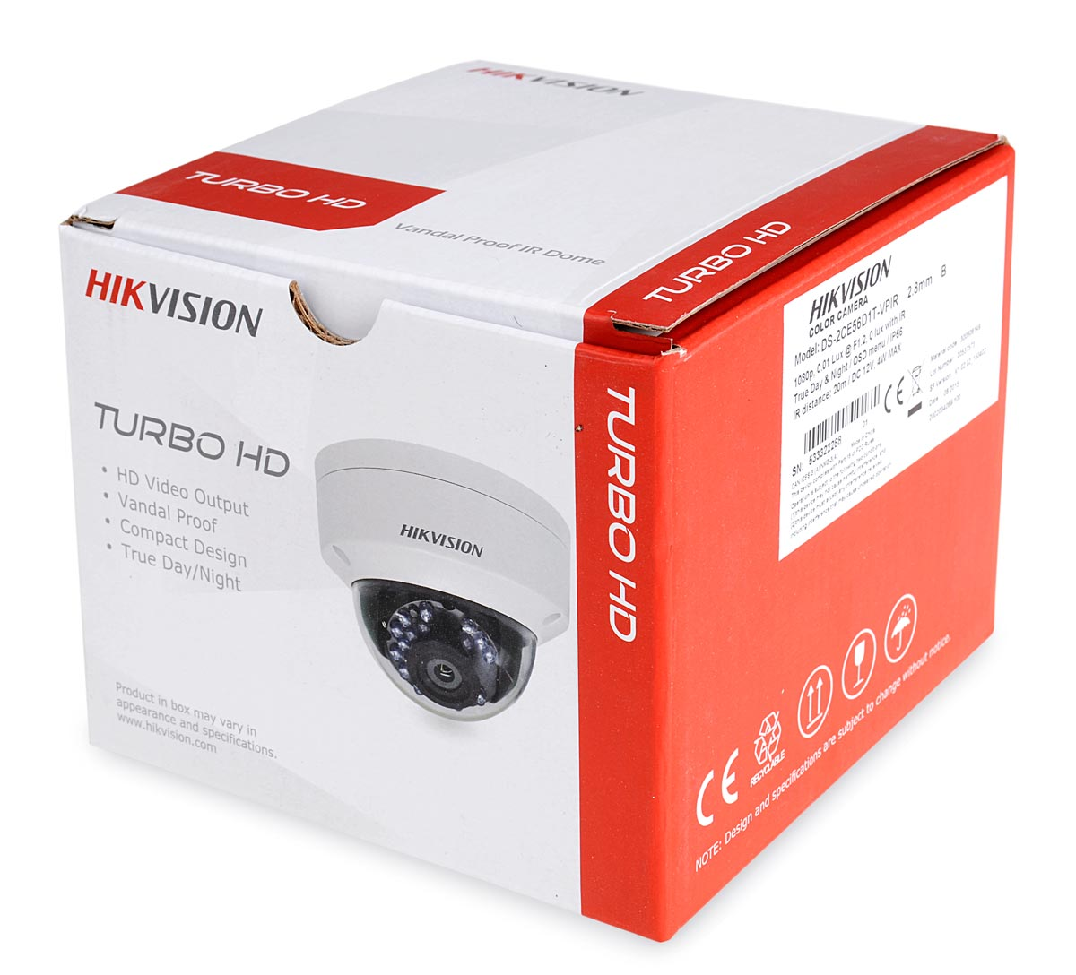 Opakowanie kamery DS-2CE56D1T-VPIR