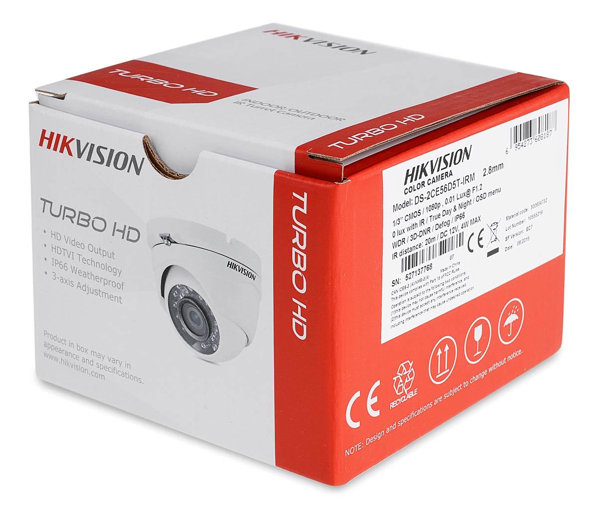 Opakowanie kamery DS-2CE56D5T-IRM