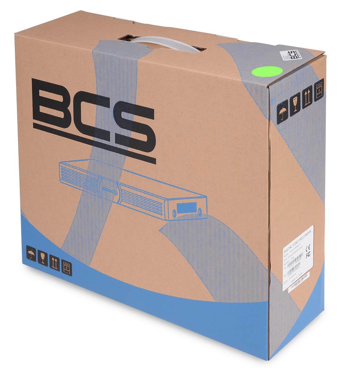 Opakowanie rejestratora BCS-CVR0401-III