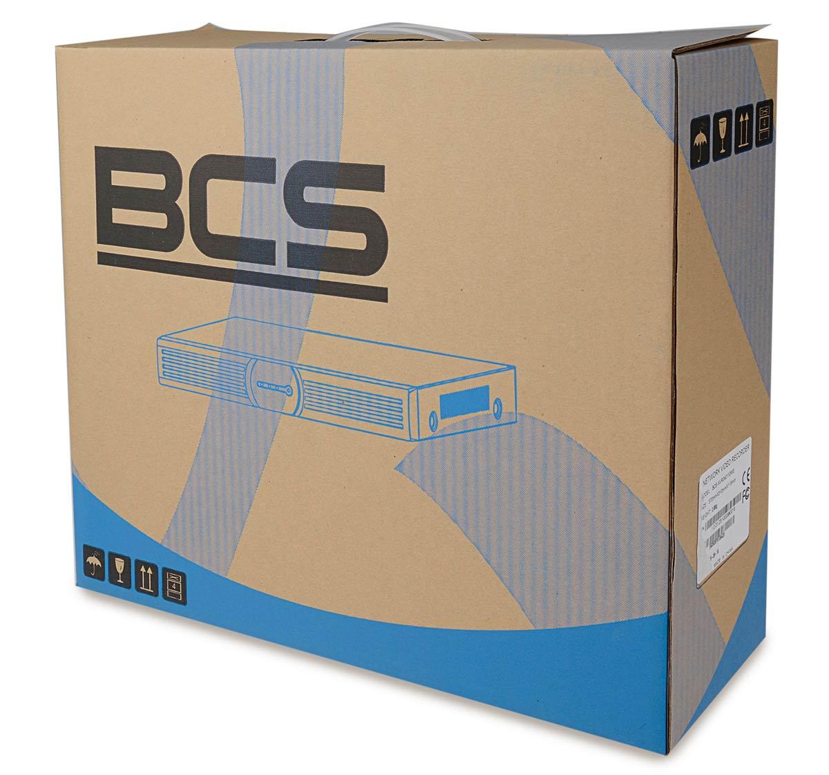 Opakowanie rejestratora BCS-NVR0401X5ME-P