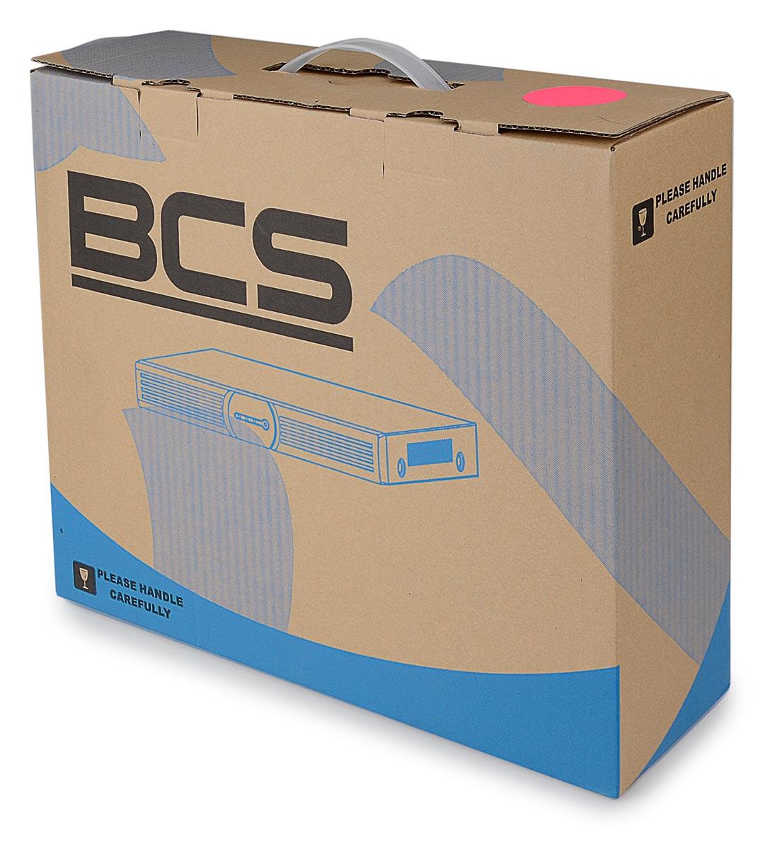 Opakowanie rejestratora BCS-NVR0801X5ME-P