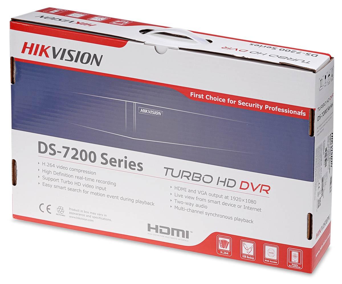 Opakowanie rejestratora DS-7204HQHI-F1/N/A