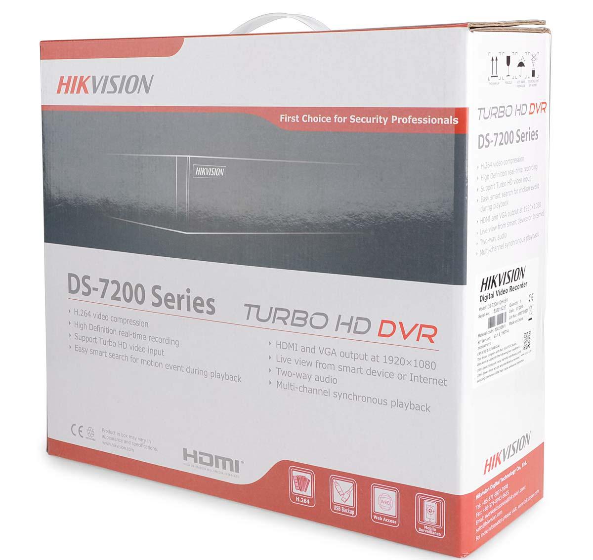 Opakowanie rejestratora DS-7216HGHI-SH/A