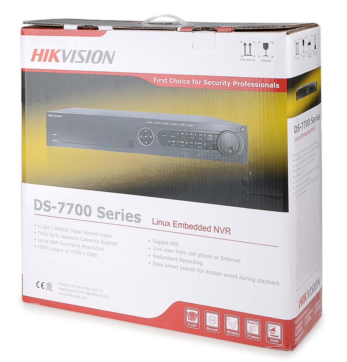 Opakowanie rejestratora DS-7716NI-E4