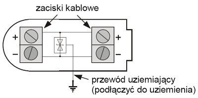 Uproszczony schemat ogranicznika OPV-1S