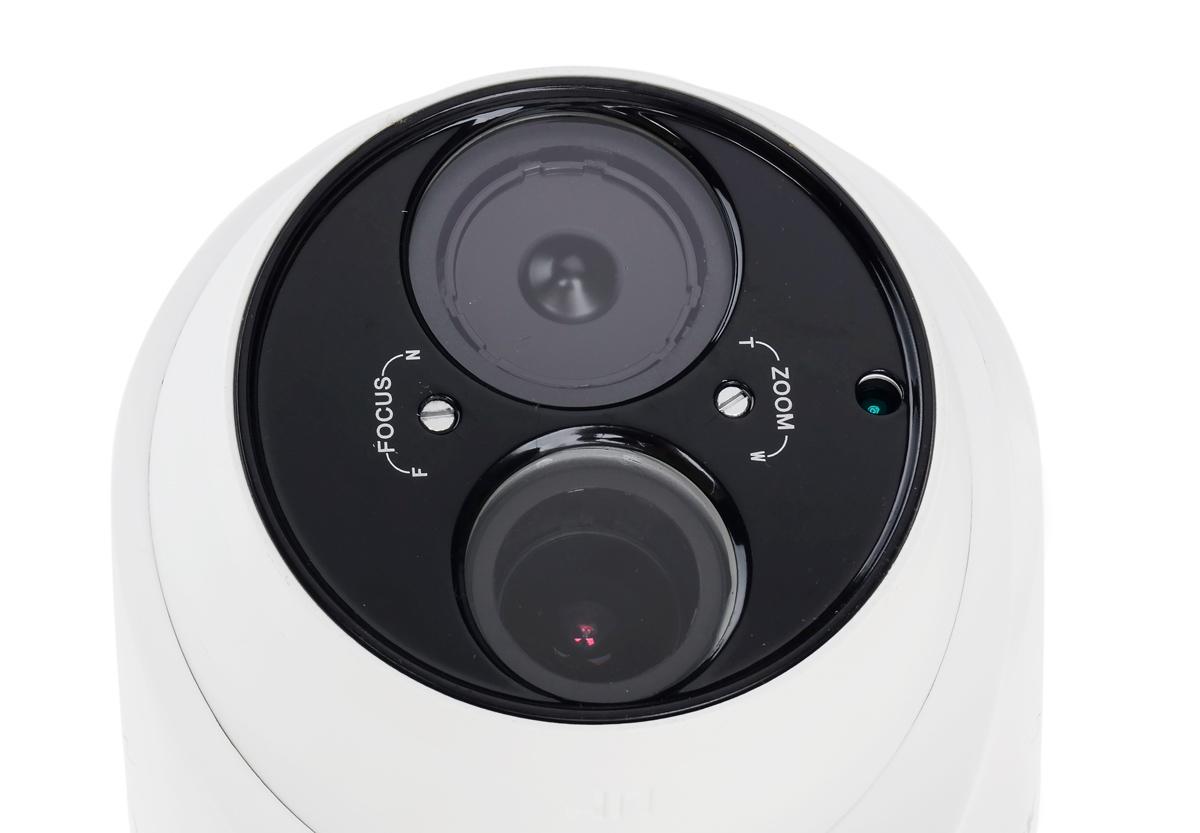 Obiektyw i oświetlacz podczerwieni kamery DS-2CE56D5T-FVIT3