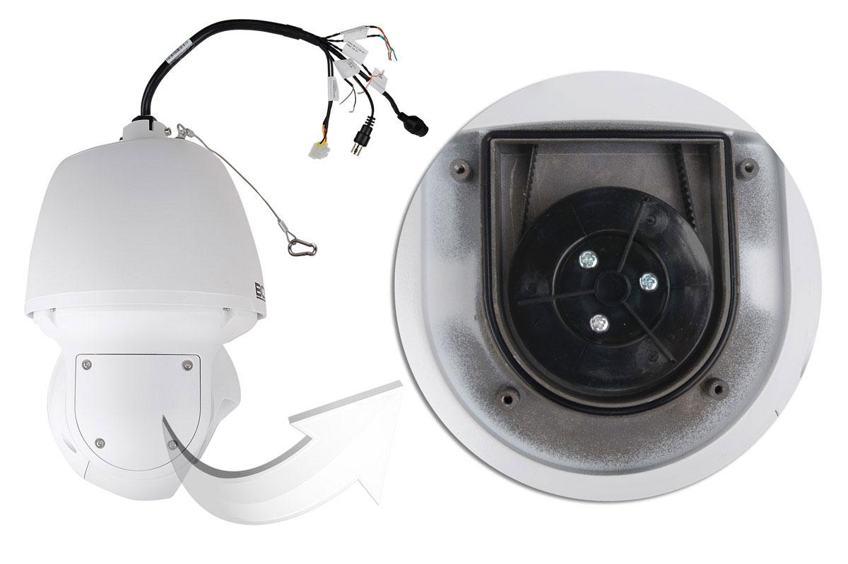 Mechanizm do sterowania położeniem kamery BCS-P-5634RSA w poziomie