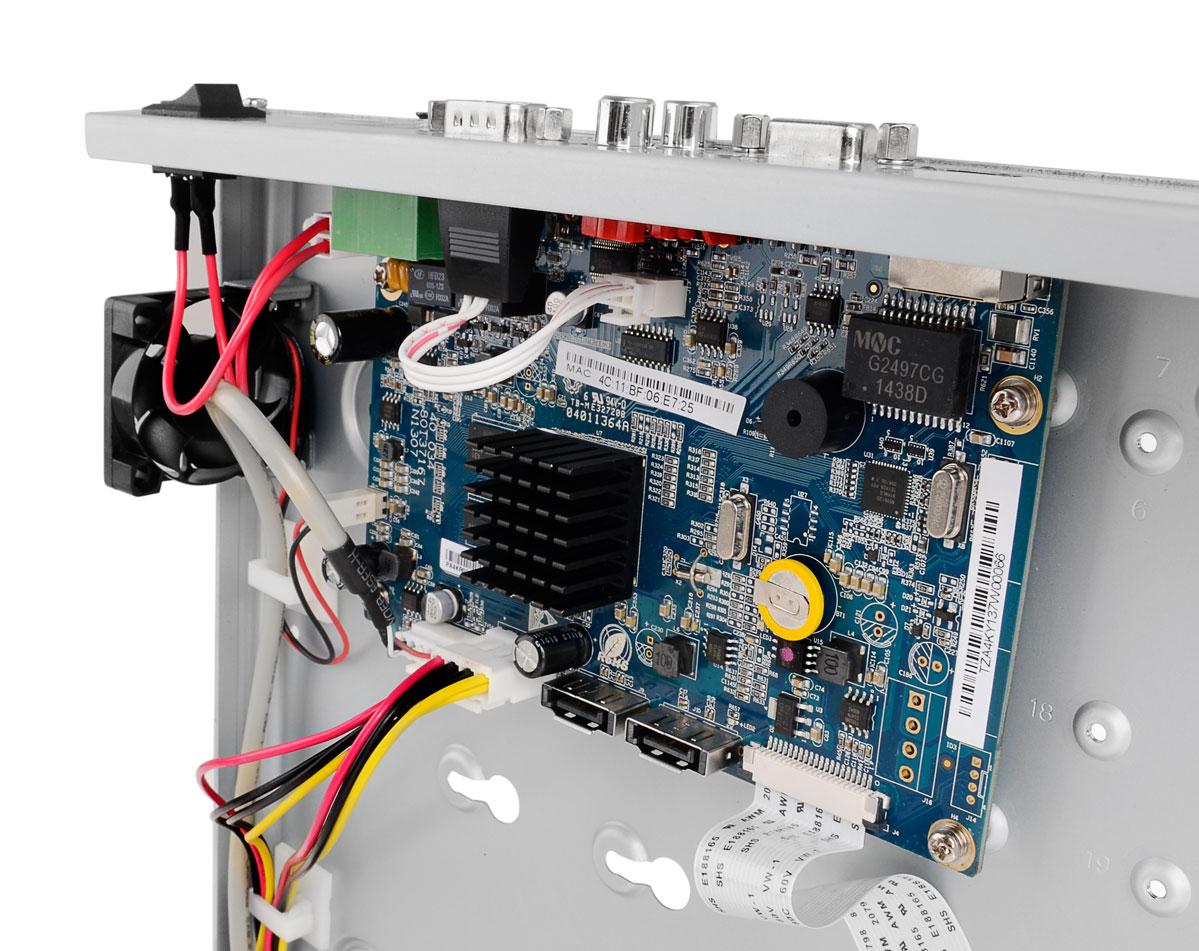 Płytka elektroniki rejestratora BCE-NVR32025ME