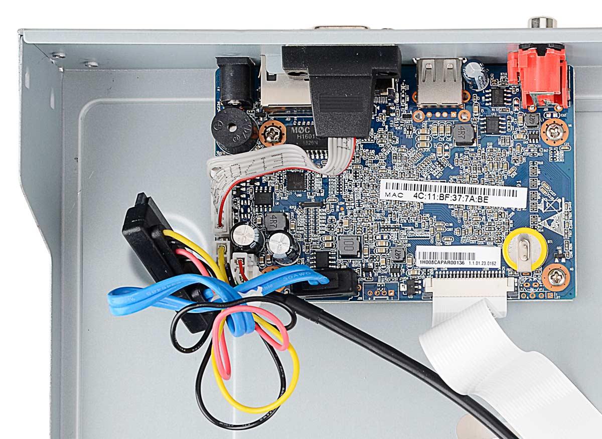 Płytka elektroniki rejestratora BCS-NVR0801X5ME
