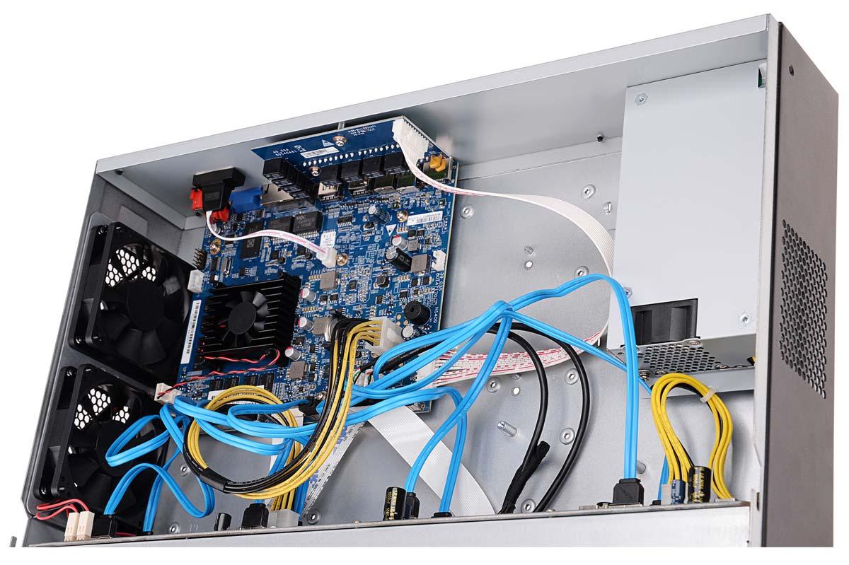 Płytka elektroniki rejestratora BCS-NVR12808-4K