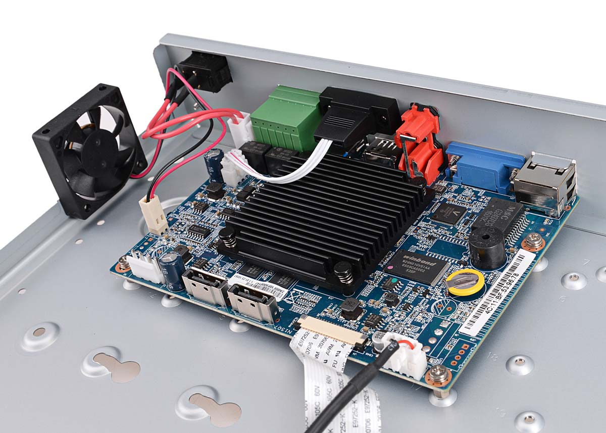 Płytka elektroniki rejestratora BCS-NVR1602-4K-II