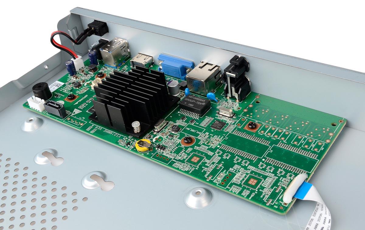 Płytka elektroniki rejestratora BCS-PNVR0401
