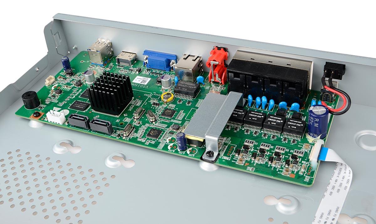 Płytka elektroniki rejestratora BCS-PNVR1602-8P
