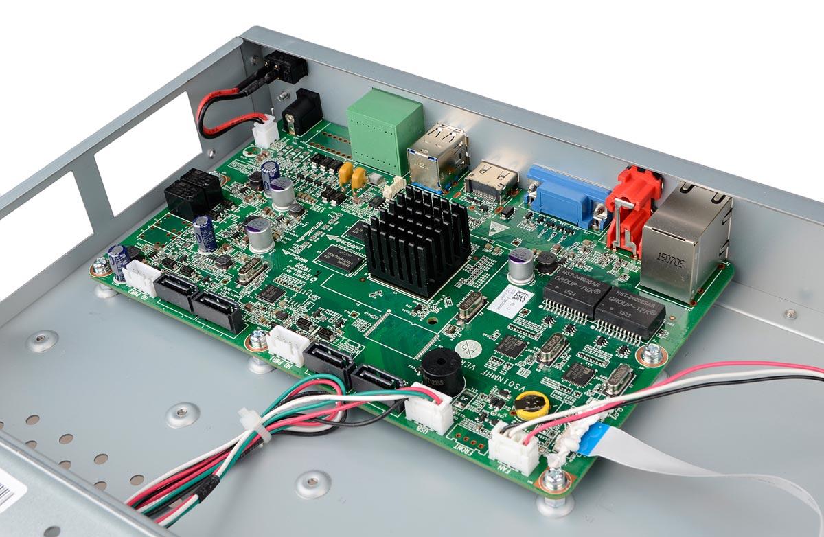 Płytka elektroniki rejestratora BCS-PNVR1604