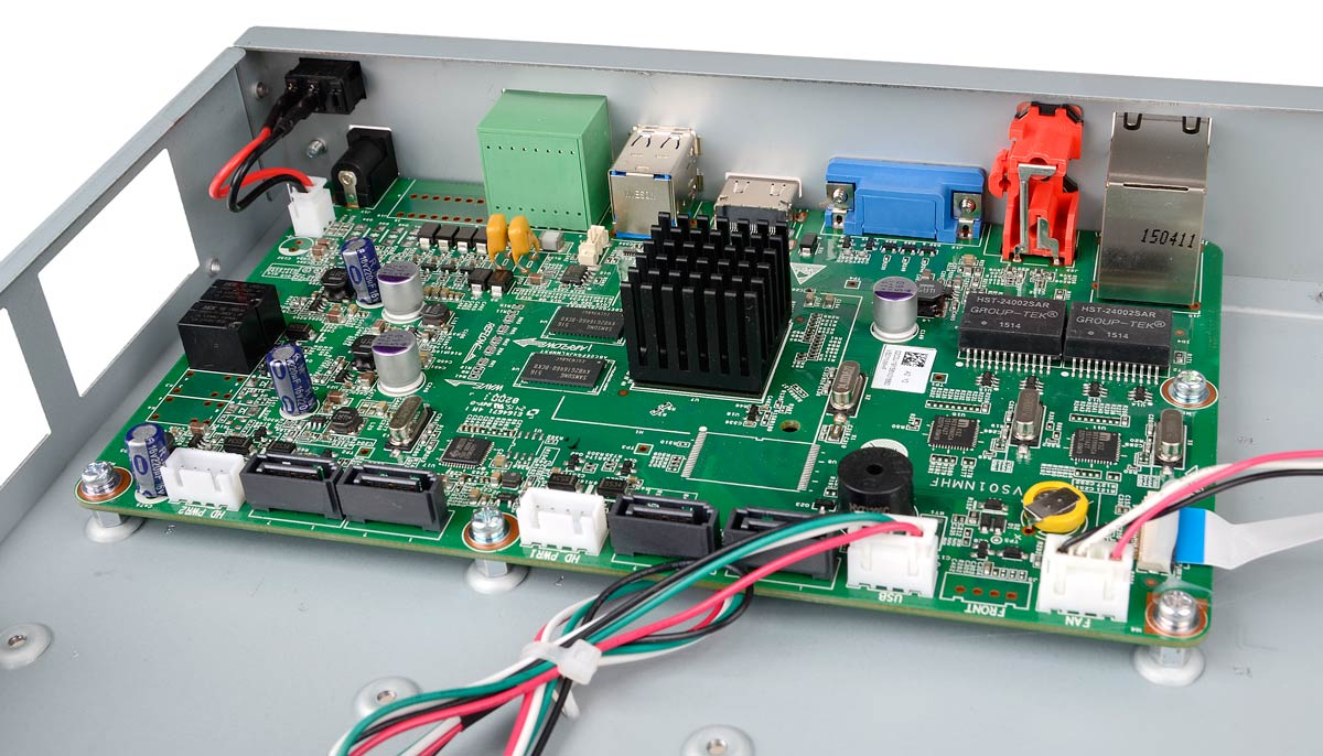 Płytka elektroniki rejestratora BCS-PNVR3204