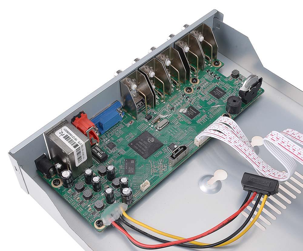 Płytka elektroniki rejestratora BCS-QDVR0801ME