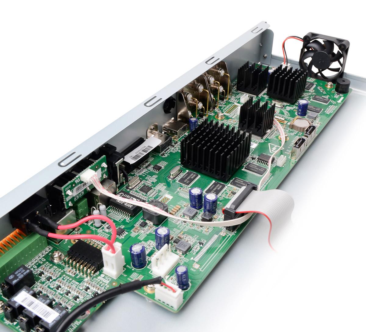 Płytka elektroniki rejestratora DS-7208HQHI-SH/A