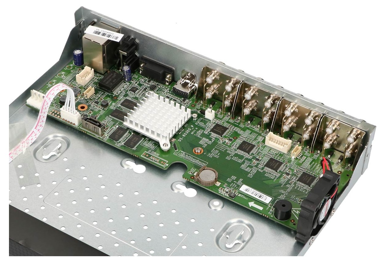 Płytka elektroniki rejestratora TURBO HD HWD-6116MH-G2