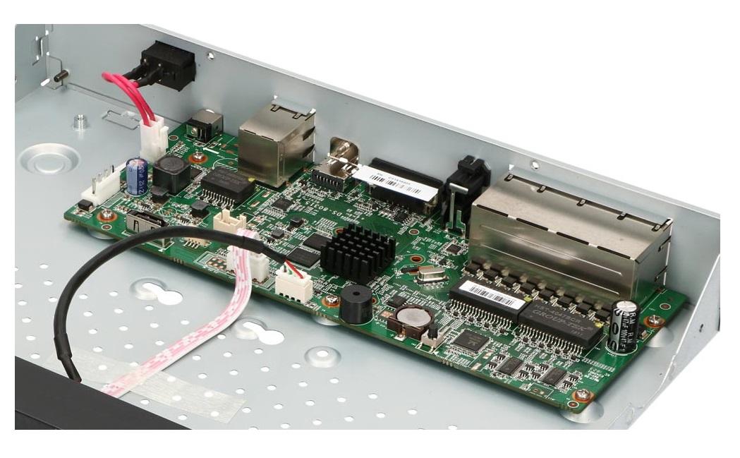 Płytka elektroniki rejestratora IP HWN-4108MH-8P