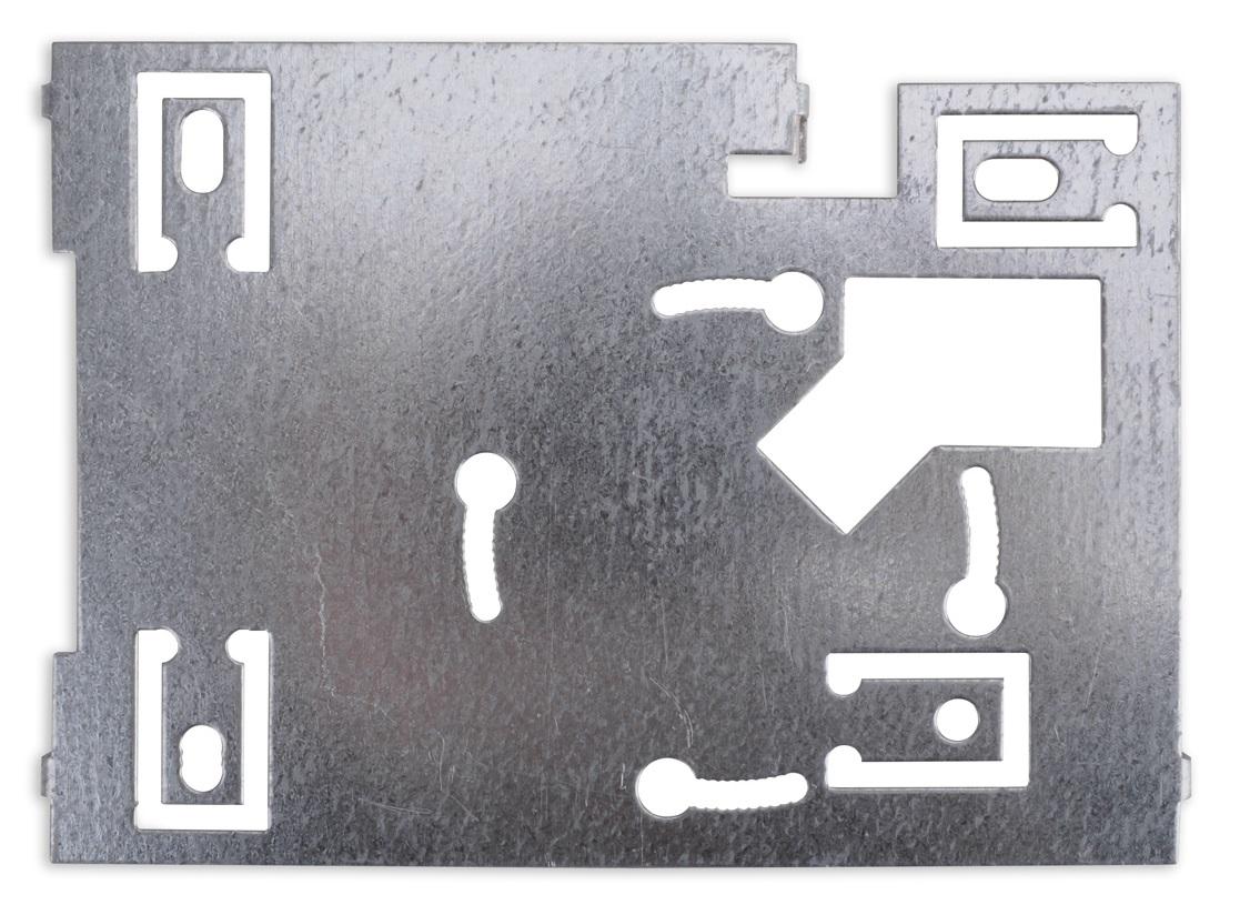 Płytka montażowa czytnika MPRO 7 WH