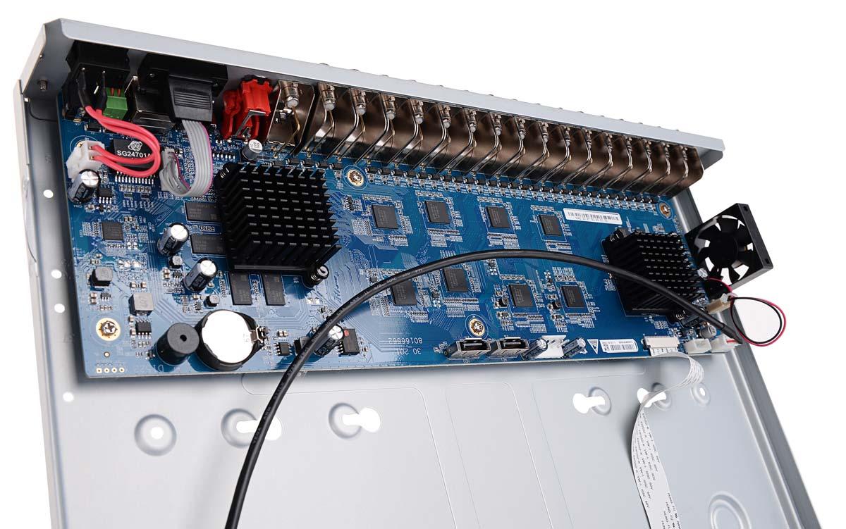 Wnętrze rejestratora BCS-CVR3202-IV