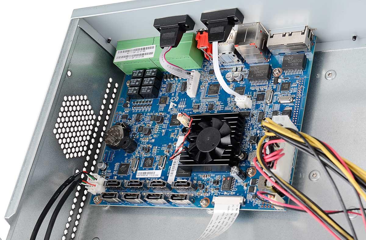 Płytka elektroniki rejestratora BCS-NVR3208-4K