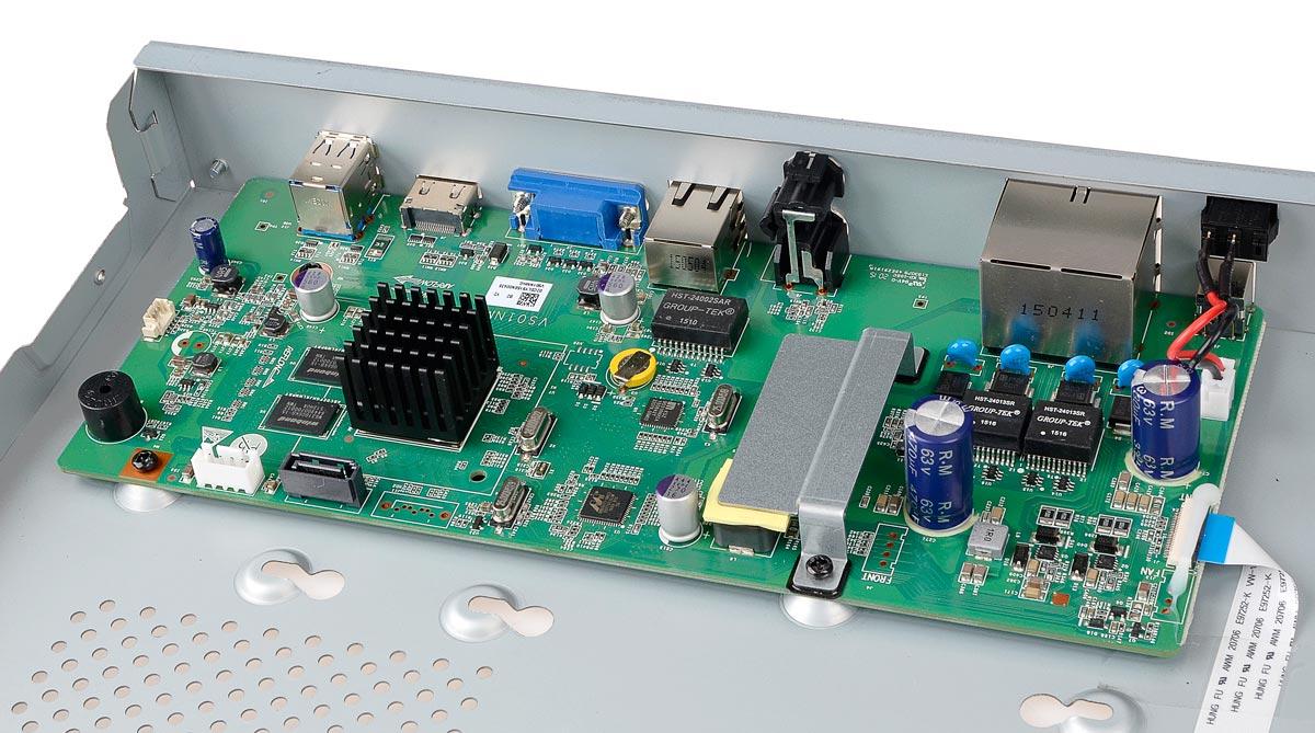 Płytka elektroniki rejestratora BCS-PNVR0401-4P