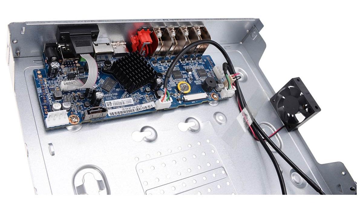 Płytka elektroniki rejestratora BCS-XVR0801-III