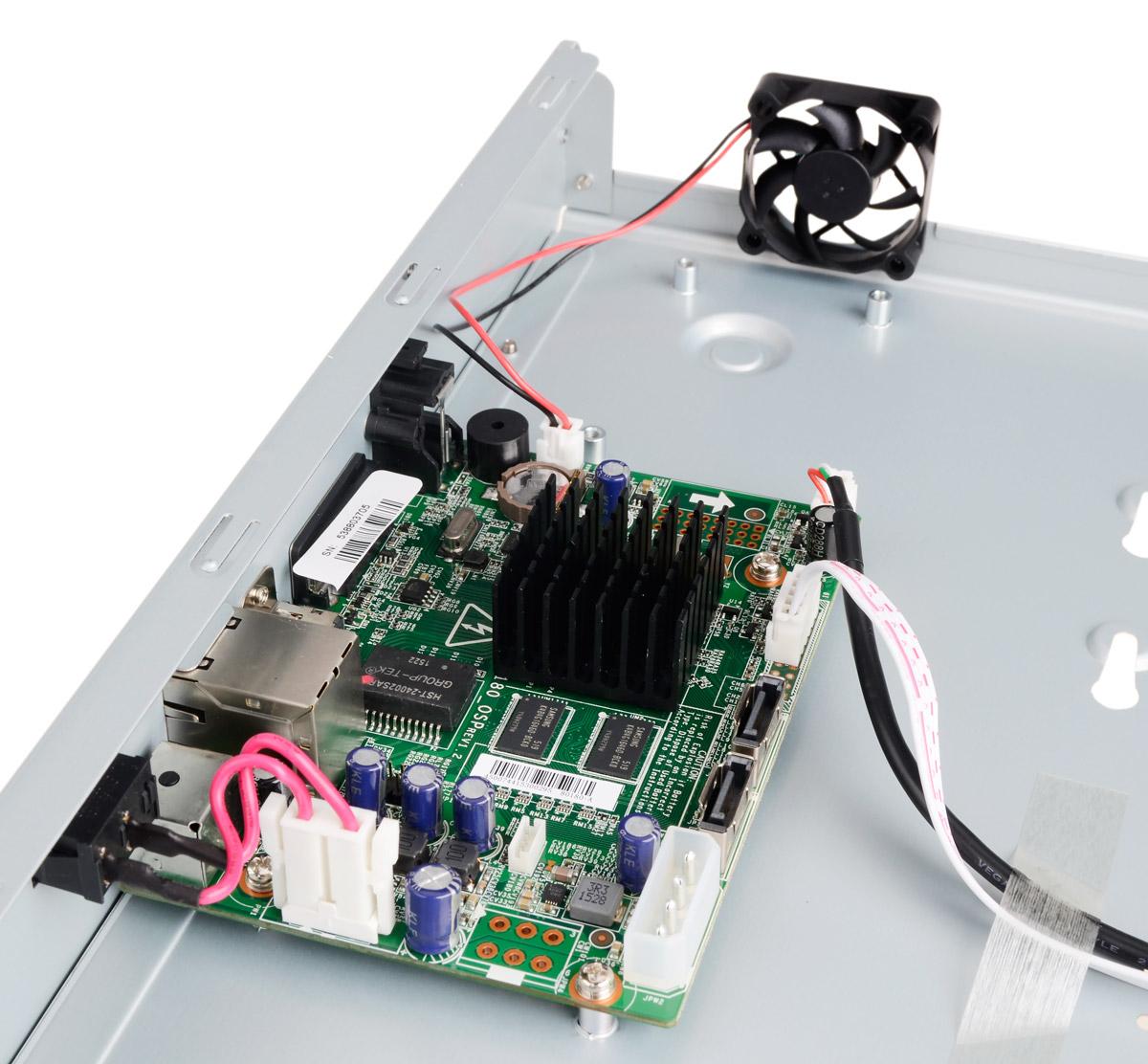 Płytka elektroniki rejestratora DS-7632NI-E2