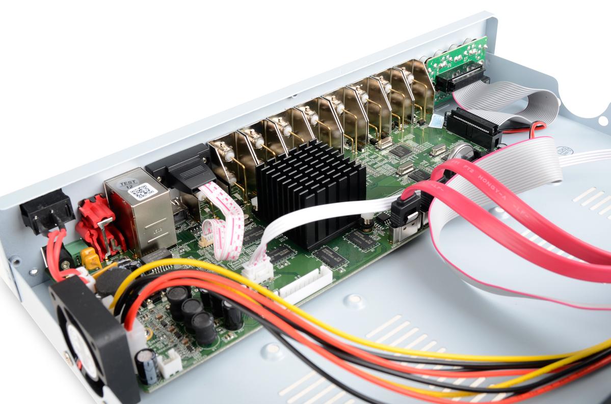 Płytka elektroniki rejestratora VAHR-16HDN