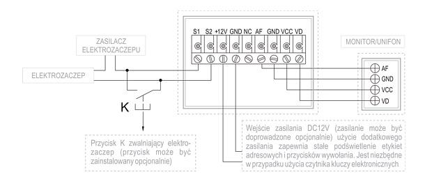 Realizacja połączenia KW-1380MC-1B