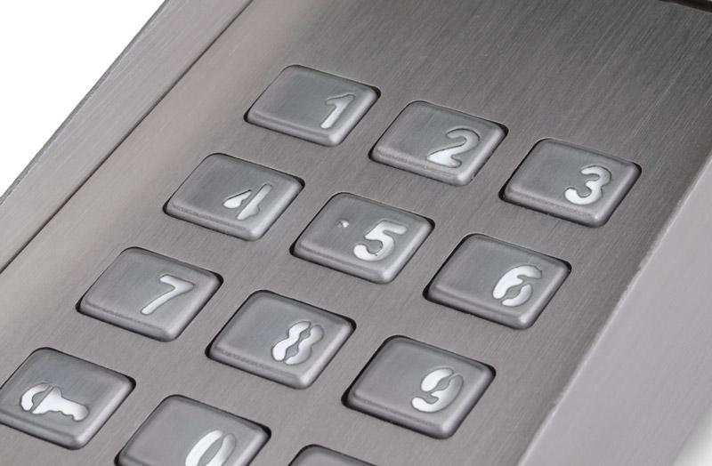 Podświetlana klawiatura panelu FAM-P-2NPZS NT