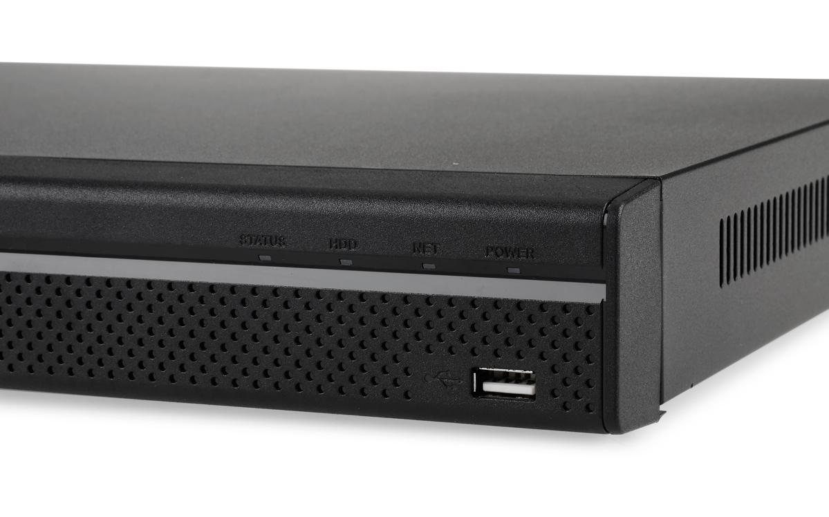 Gniazdo USB na panelu przednim rejestratora DHI-HCVR4204A-S2