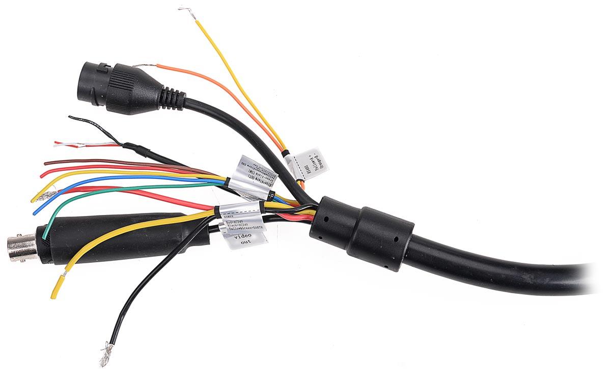 Zakończenie przewodu połączeniowego kamery BCS-SDIP5230-II