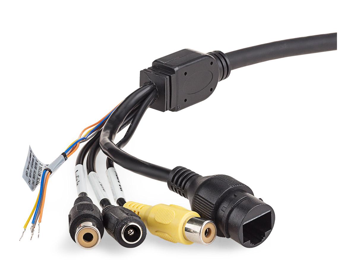 Zakończenie przewodu połączeniowego kamery BCS-SFIP2600IR