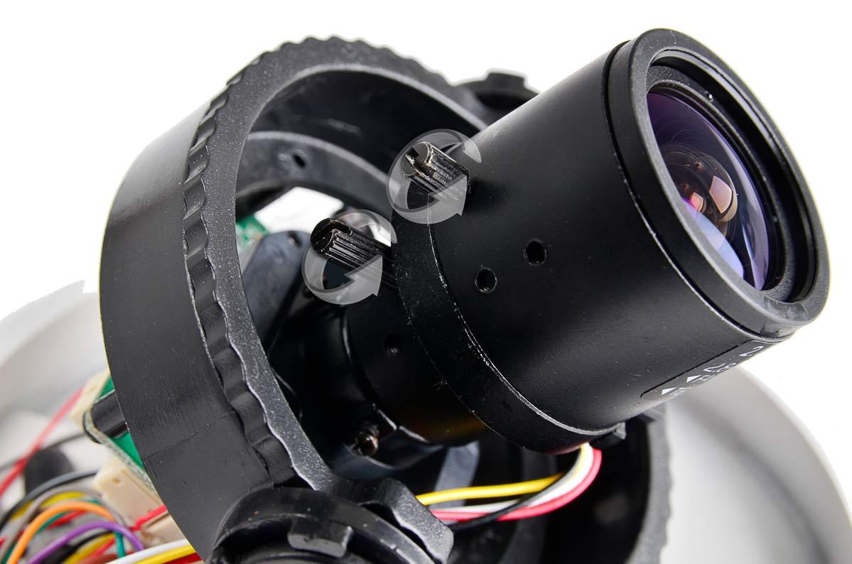 Regulacja ostrości i zbliżenia kamery BCS-DMHA4130TDNU