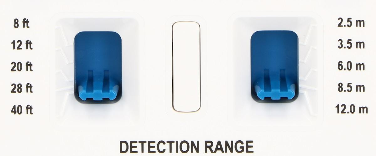 Przełączniki do regulacji zasięgu detektorów PIR