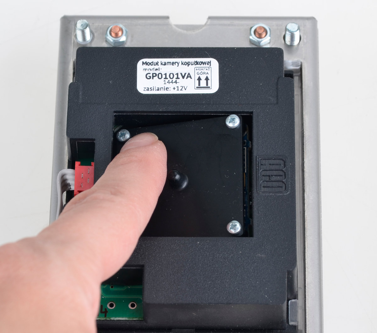 Sposób regulacji położenia kamery FAM-PV-ZS NT