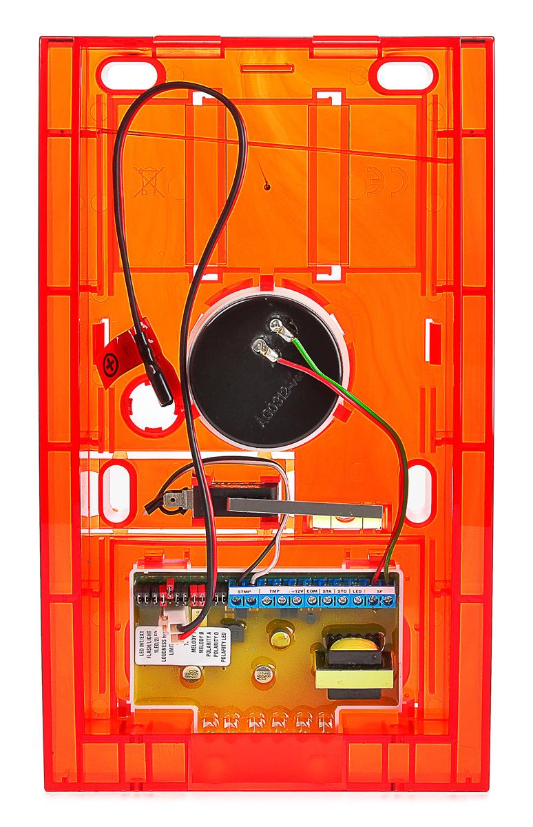 Wnętrze sygnalizatora SP-4004 R