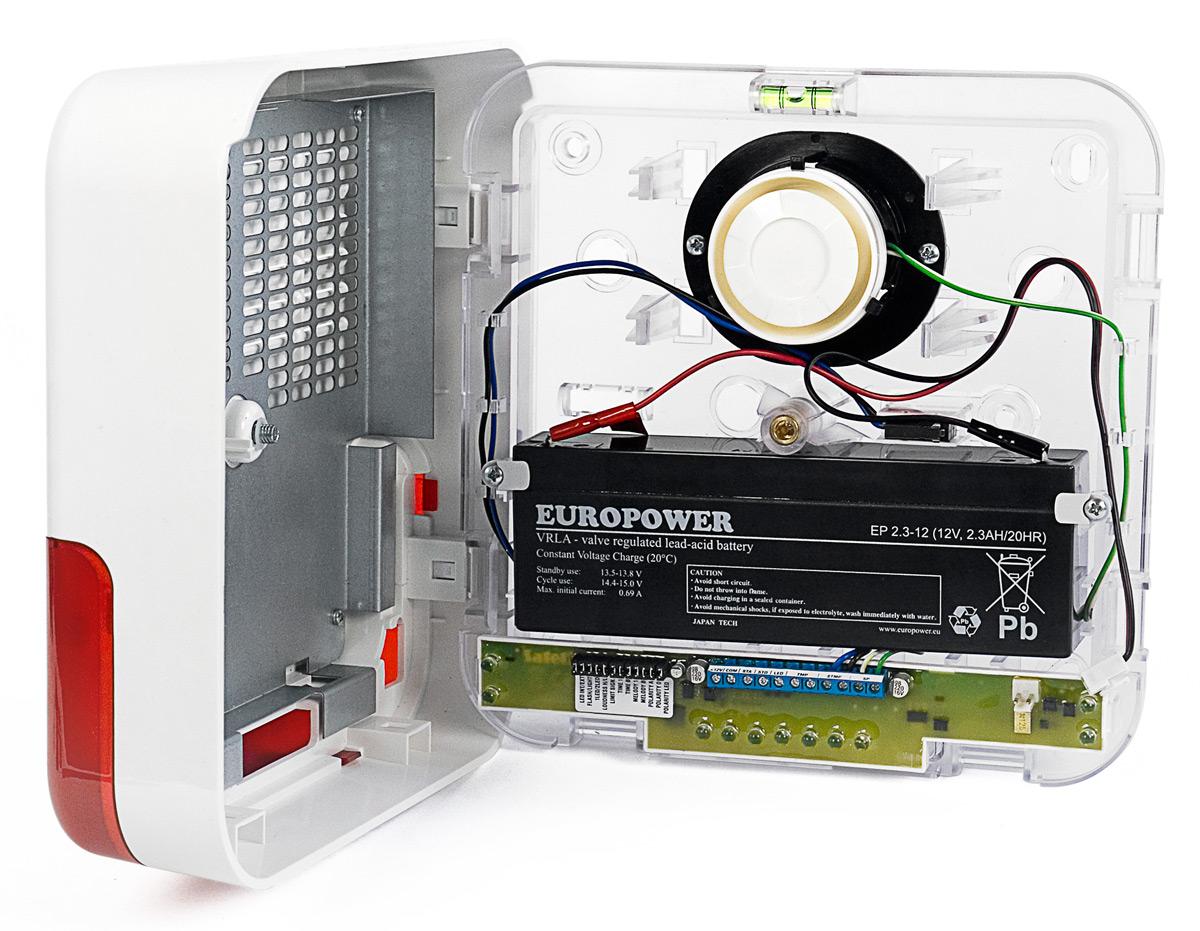 Wnętrze sygnalizatora SP-6500 R