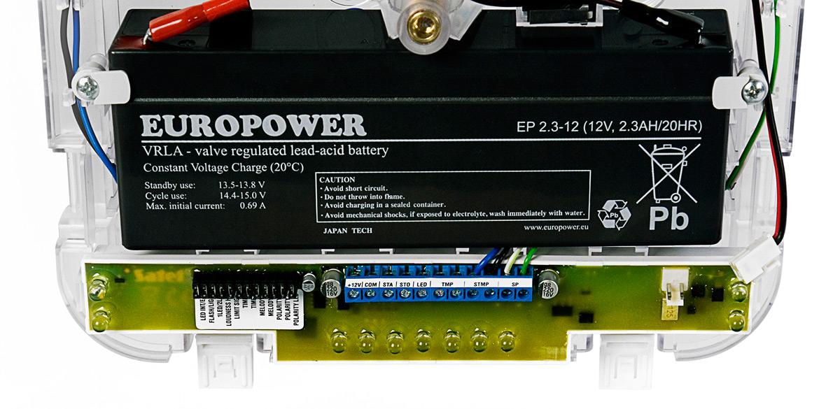 Zmiana ustawień przy pomocy dip-switchy