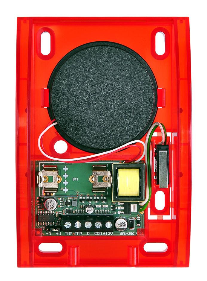 Wnętrze sygnalizatora SPW-250 R