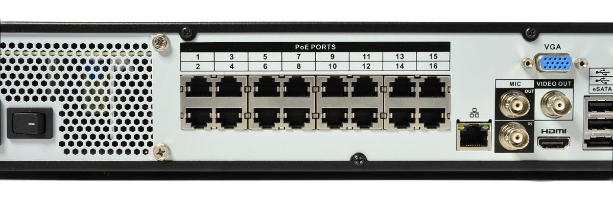 16-portowy switch PoE BNC-NVR16045ME-P